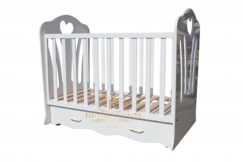 Кроватка детская ROYALROOM ВИВАЛЬДИ лайт