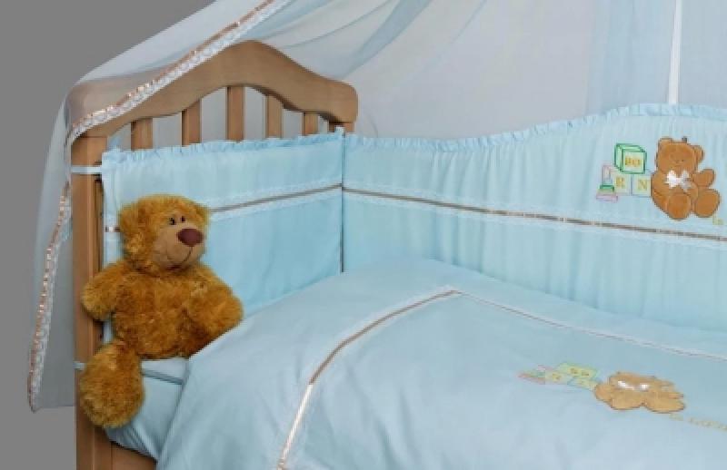 Комплект Тедди голубой 6ед