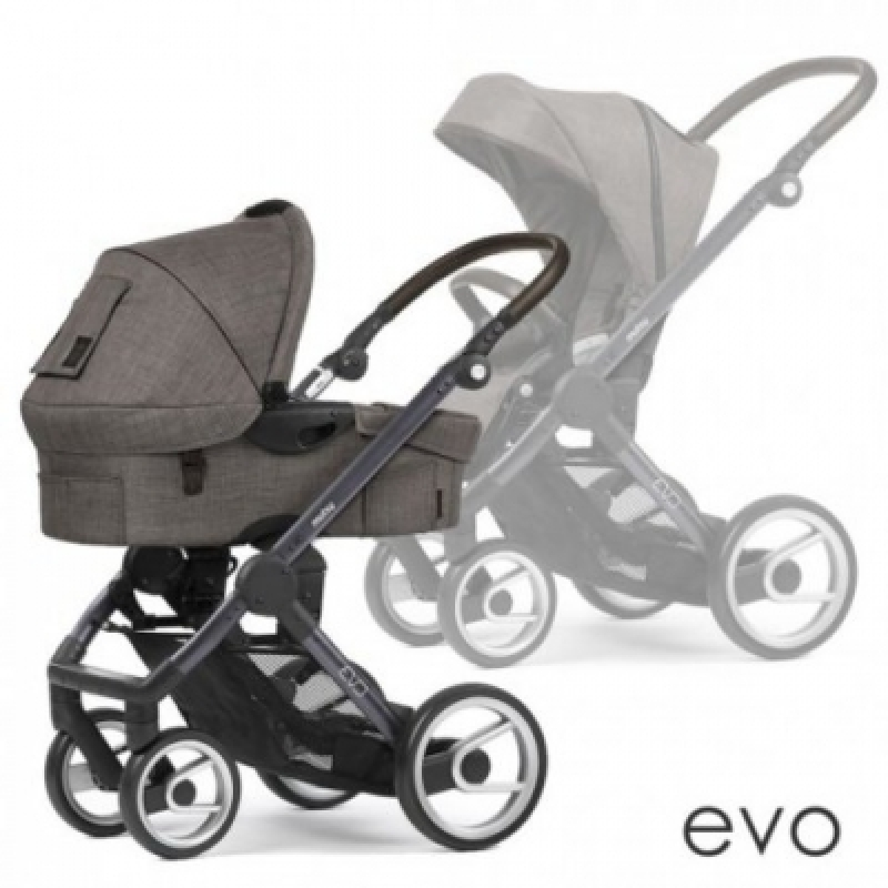Mutsy универсальная коляска 2в1 EVO Farmer Earth / Dark Grey Brown