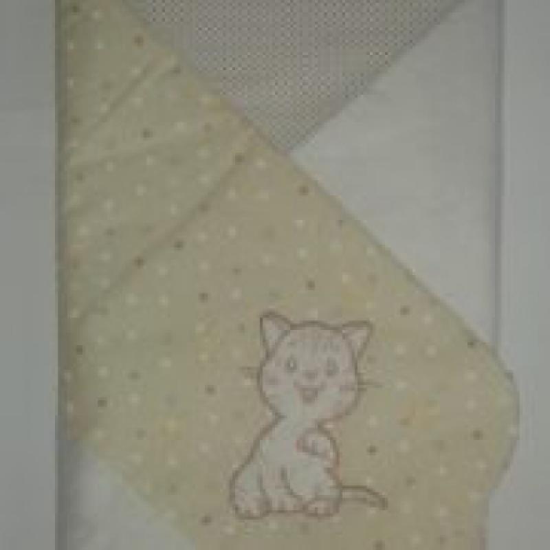 Конверт-одеяло(весна-лето) Veres ''Little Cat beige''