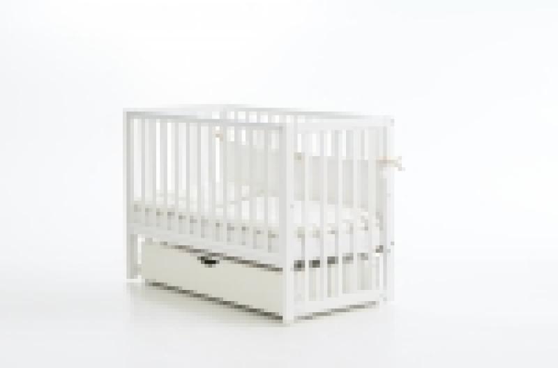Кроватка детская ЛД 13, белая