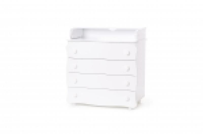 Комод-пеленатор 16, 900х900х510, ДСП/МДФ, белый