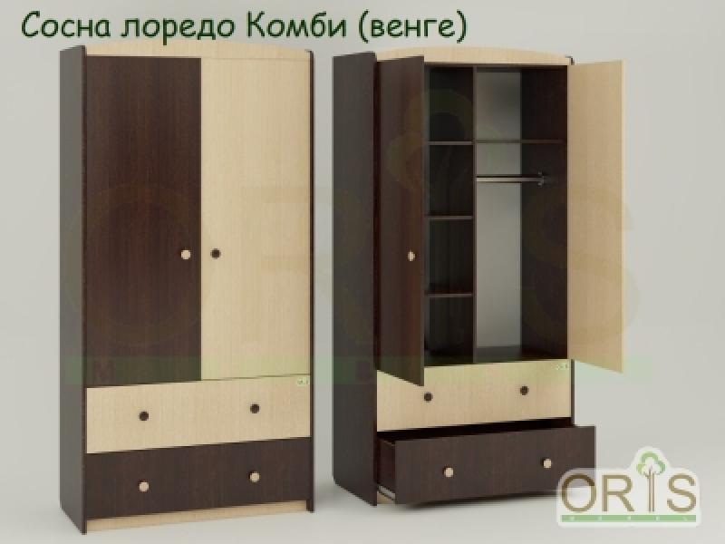 Шкаф ORIS (сосна лоредо комби)