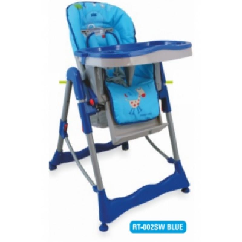 Стульчик для кормления Alexis-Babymix RT-002SW blue