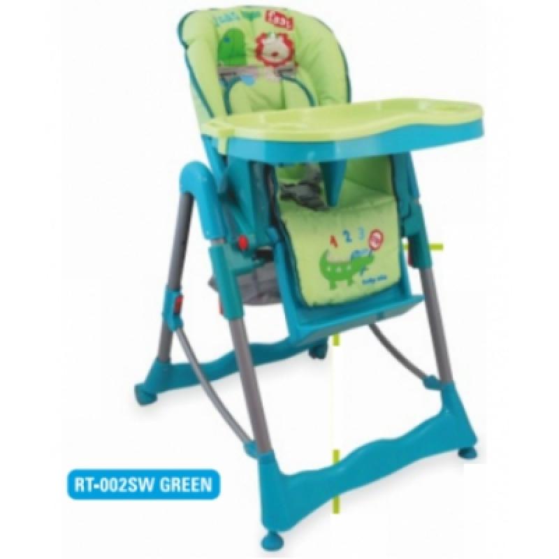 Стульчик для кормления Alexis-Babymix RT-002SW green