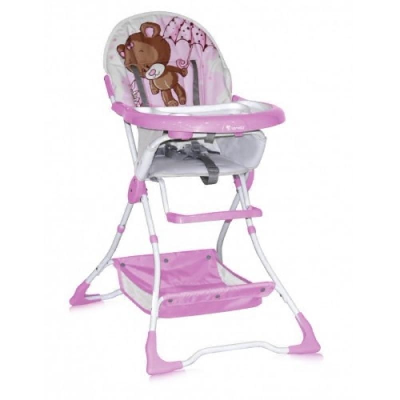 Стульчик для кормления Bertoni BRAVO (pink bear)