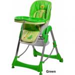 Стульчик для кормления Caretero Royo - green